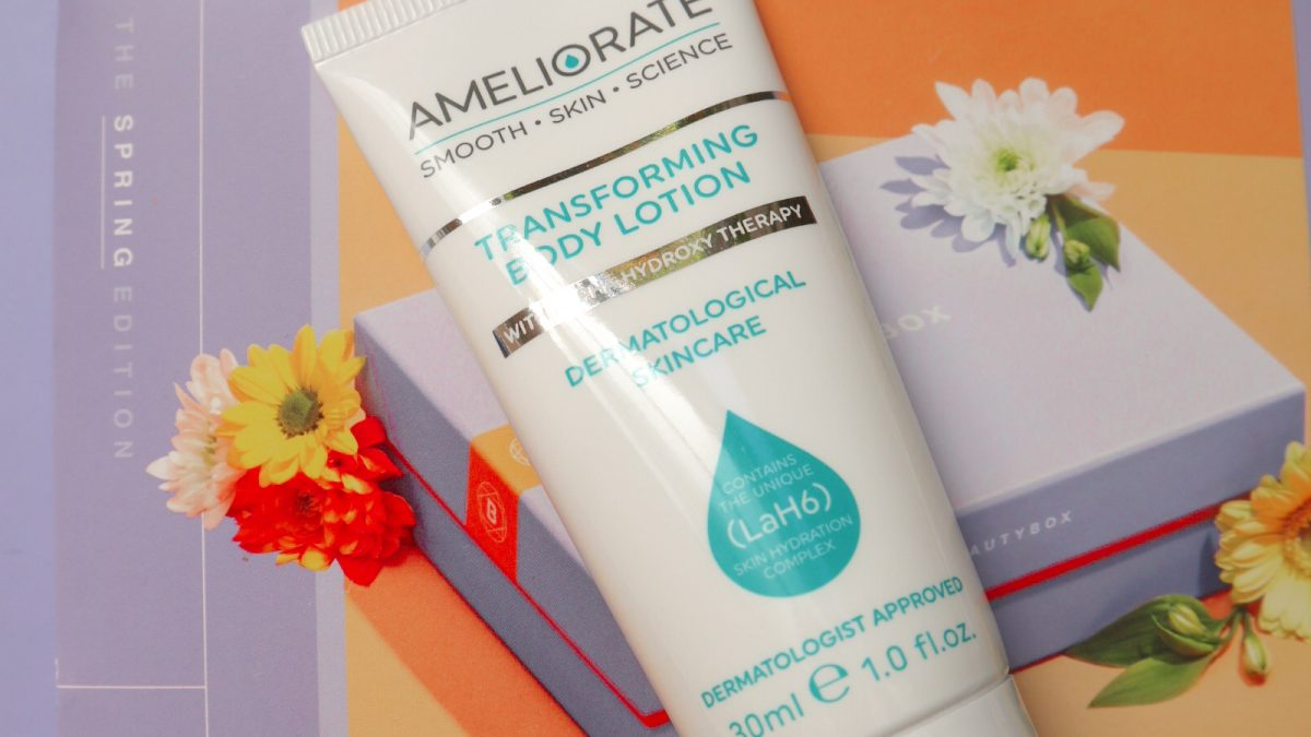 AMELIORATE body lotion