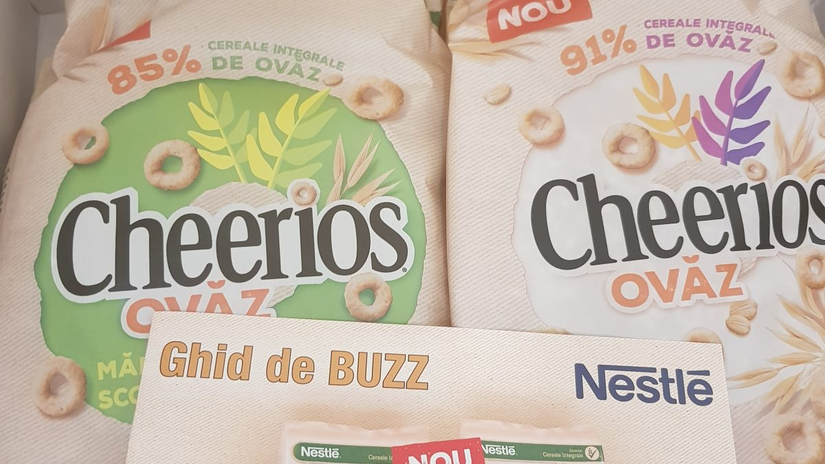 Cheerios ovaz si cheerios mar si scortisoara