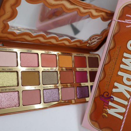 Paleta Pumpkin Spice Too Faced – review (comandă Lookfantastic, transport si livrare)